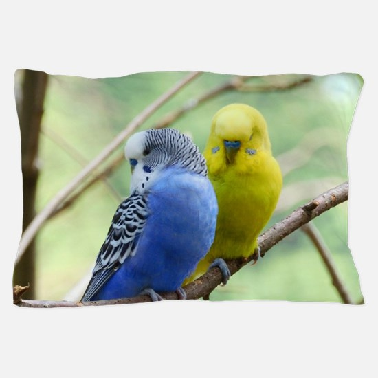 Budgie Love Pillow Case