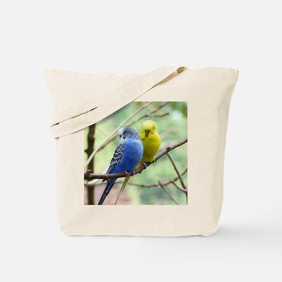 Budgie Love Tote Bag