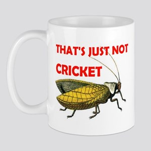 NOT CRICKET Mug