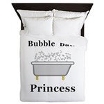 Bubble Bath Princess Queen Duvet