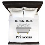 Bubble Bath Princess King Duvet