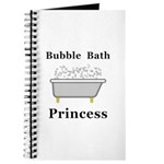 Bubble Bath Princess Journal