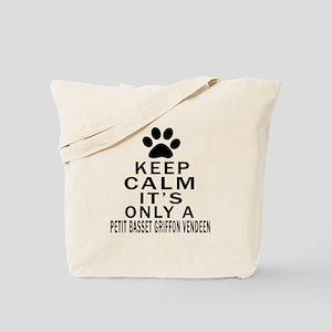 Petit Basset Griffon Vendeen Keep Calm De Tote Bag