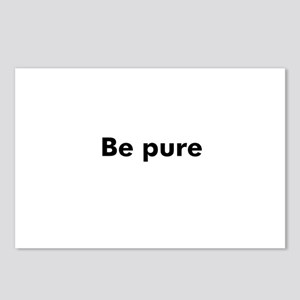Be pure Postcards (Package of 8)