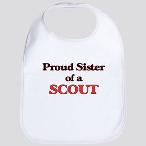 Proud Sister of a Scout Bib