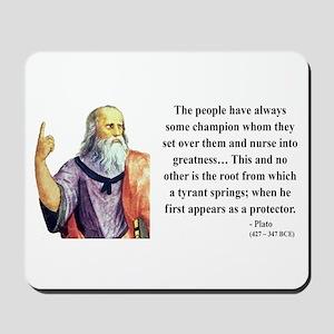 Plato 18 Mousepad