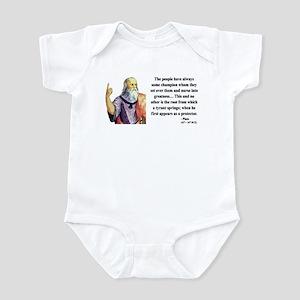 Plato 18 Infant Bodysuit