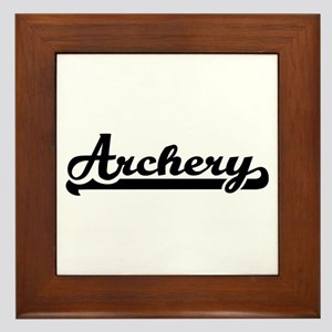 Archery Framed Tile