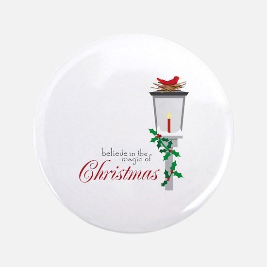 Magic Of Christmas Button