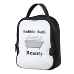 Bubble Bath Beauty Neoprene Lunch Bag