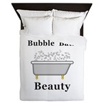 Bubble Bath Beauty Queen Duvet