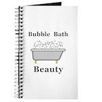 Bubble Bath Beauty Journal