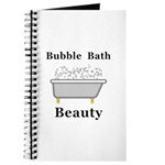 Bubble Bath Beauty Journal