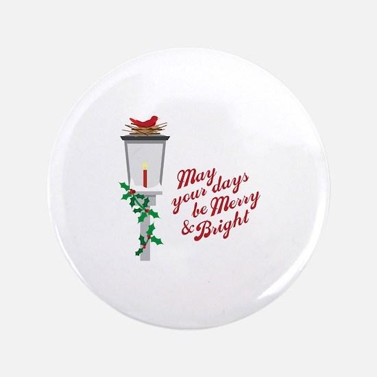 Merry & Bright Button