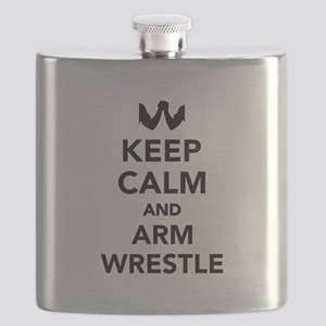Keep calm and arm wrestle Flask