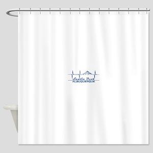 Sandia Peak - Albuquerque - New M Shower Curtain