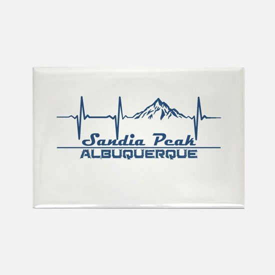 Sandia Peak - Albuquerque - New Mexico Magnets