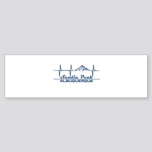 Sandia Peak - Albuquerque - New M Bumper Sticker