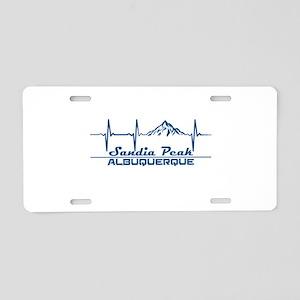 Sandia Peak - Albuquerque Aluminum License Plate