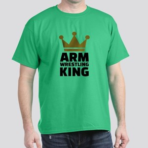 Arm wrestling king Dark T-Shirt