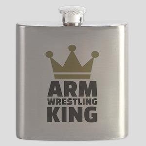 Arm wrestling king Flask