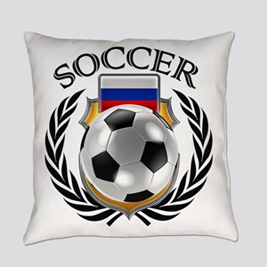 Russia Soccer Fan Everyday Pillow