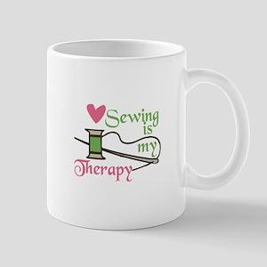 Sewing Therapy Mugs