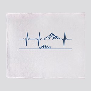 Alta - Alta - Utah Throw Blanket