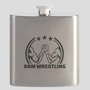 Arm wrestling Flask