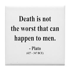 Plato 19 Tile Coaster