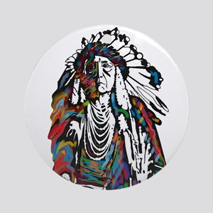 CHIEF Round Ornament