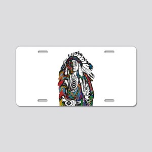 CHIEF Aluminum License Plate