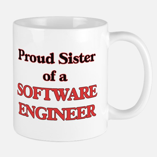 Proud Sister of a Software Engineer Mugs