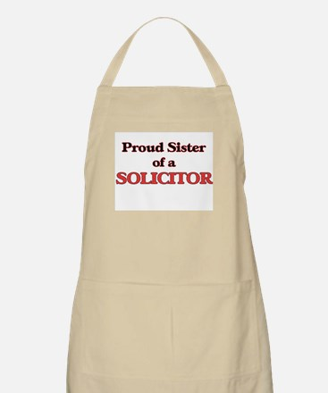 Proud Sister of a Solicitor Apron