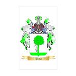 Pina Sticker (Rectangle 50 pk)