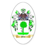 Pina Sticker (Oval 10 pk)