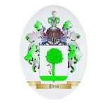 Pina Oval Ornament