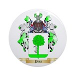 Pina Round Ornament