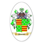 Pimentel Sticker (Oval)