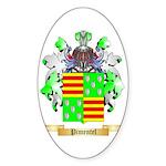 Pimentel Sticker (Oval 10 pk)