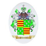Pimentel Oval Ornament
