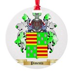 Pimenta Round Ornament