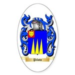 Piloto Sticker (Oval 10 pk)