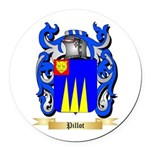 Pillot Round Car Magnet