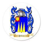 Pillon Round Car Magnet