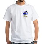 Pilling White T-Shirt