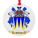 Pilling Round Ornament
