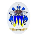 Pilling Oval Ornament