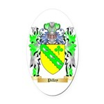 Pilley Oval Car Magnet
