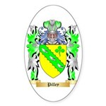 Pilley Sticker (Oval 10 pk)